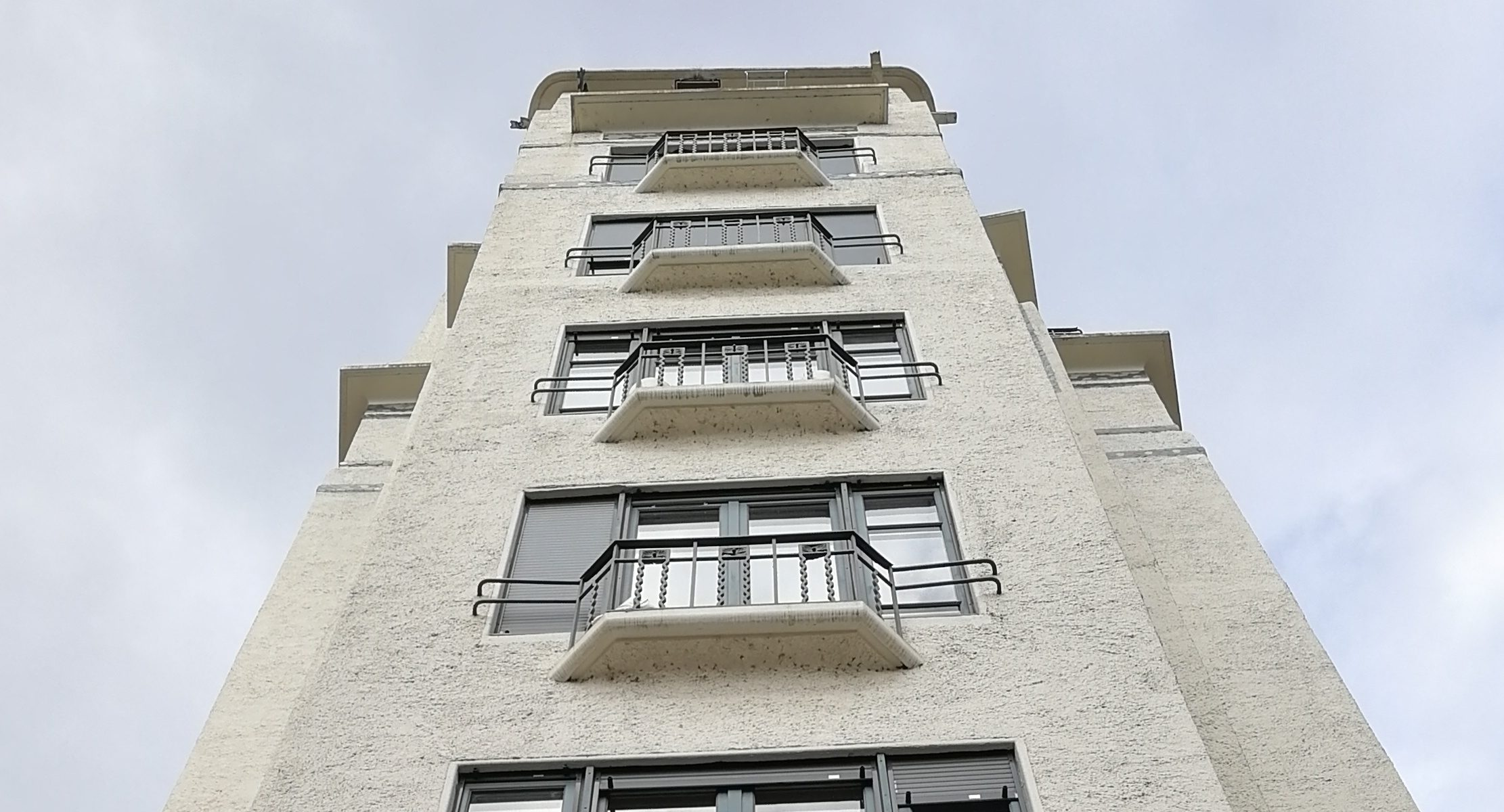 Zoom sur l'immeuble Cateland, le premier gratte-ciel lyonnais