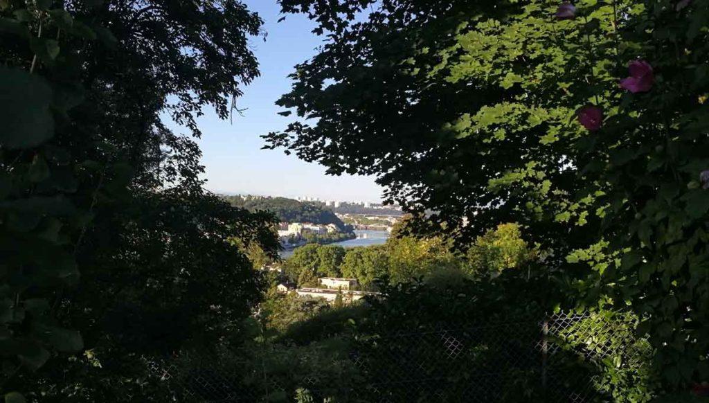 vue-saint-rambert-course-a-pied-lyon-vaise-1024x582 Où courir à Lyon ? 8 itinéraires au départ Vaise