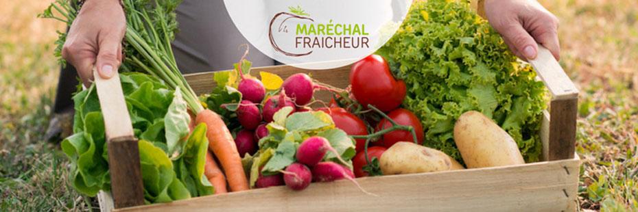 marechal-fraicheur Où prendre ses paniers de fruits et légumes locaux, bio et de saison à Vaise ?