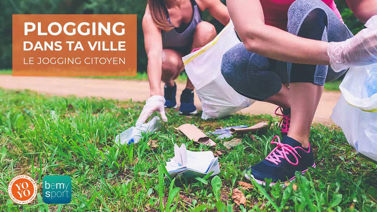 """Découvrez le """"plogging"""" à Vaise : quand le jogging devient citoyen"""