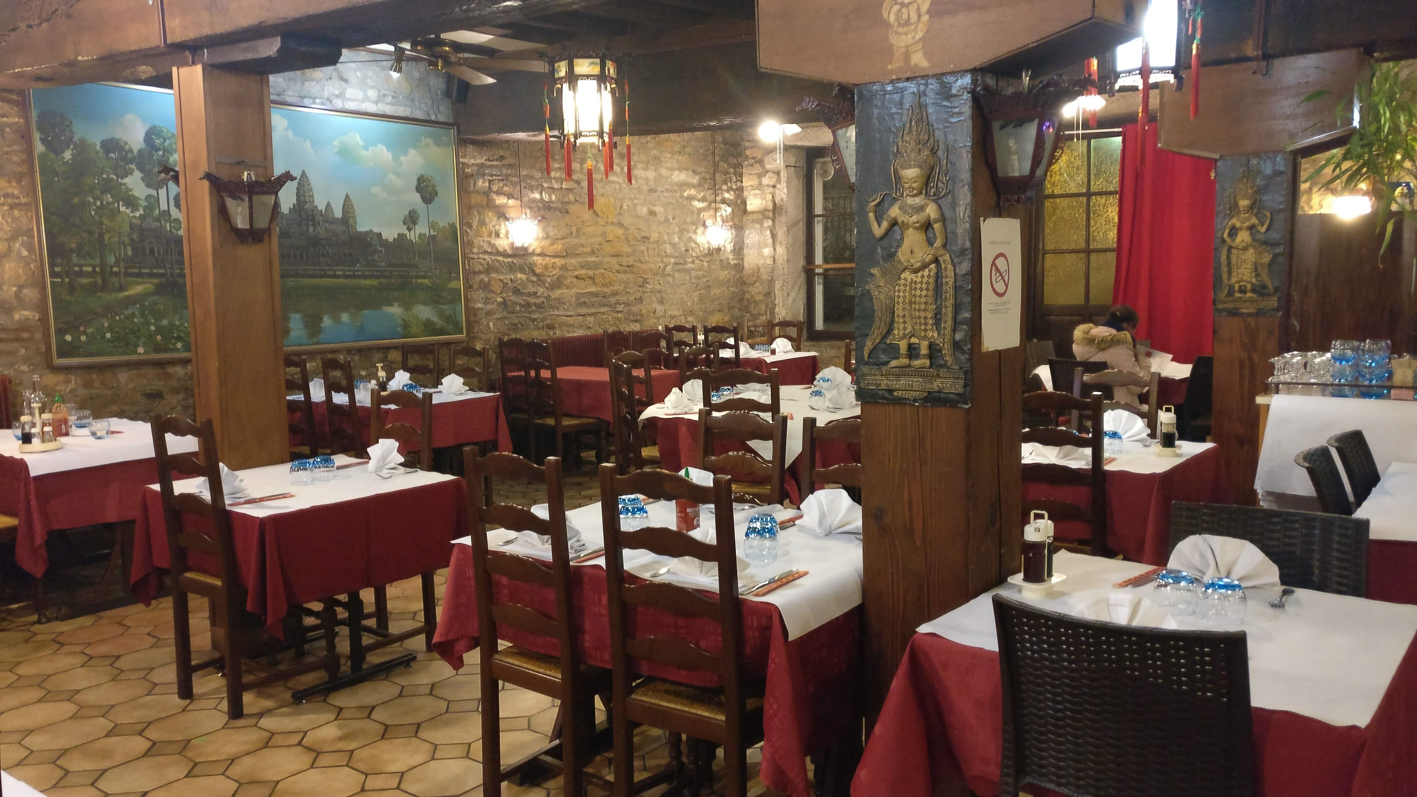 Le Monde d'Angkor – notre cantine asiatique à Vaise
