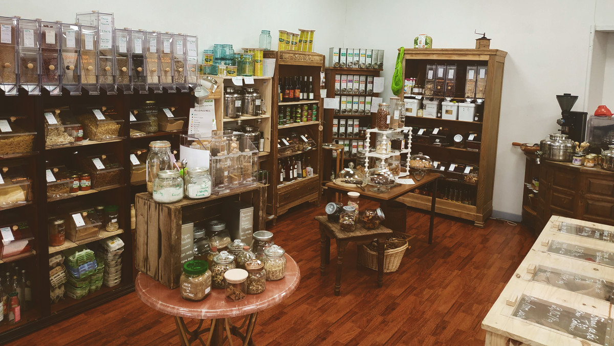 Eldorad'Oz, une épicerie vrac et zéro-déchet à Vaise